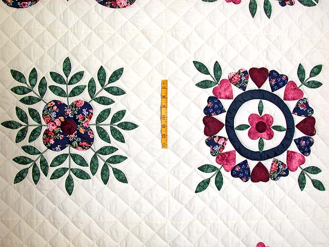 Baltimore Album Sampler Applique Quilt Photo 4
