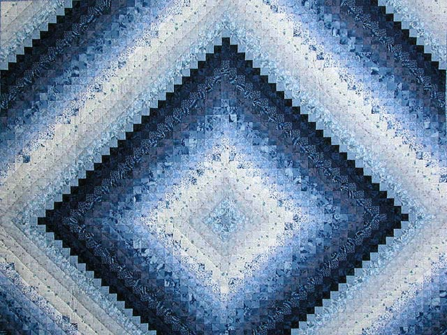 Blue King Color Splash Quilt Photo 3