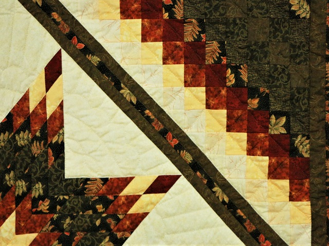 Gold Burgundy and Earth-tones Star in Commons Photo 4