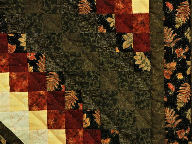 Gold Burgundy and Earth-tones Star in Commons Photo 5
