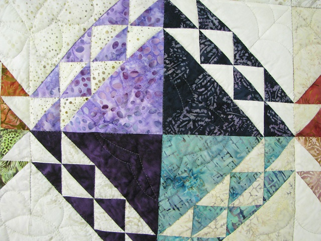 Multicolor Wrapped In Scraps Quilt Photo 3