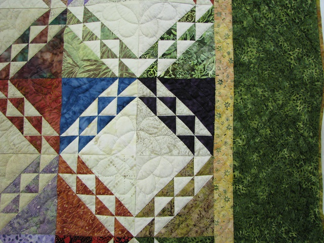 Multicolor Wrapped In Scraps Quilt Photo 4