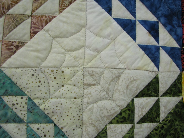 Multicolor Wrapped In Scraps Quilt Photo 5