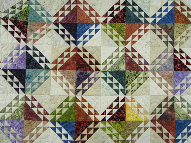 Multicolor Wrapped In Scraps Quilt Photo 8