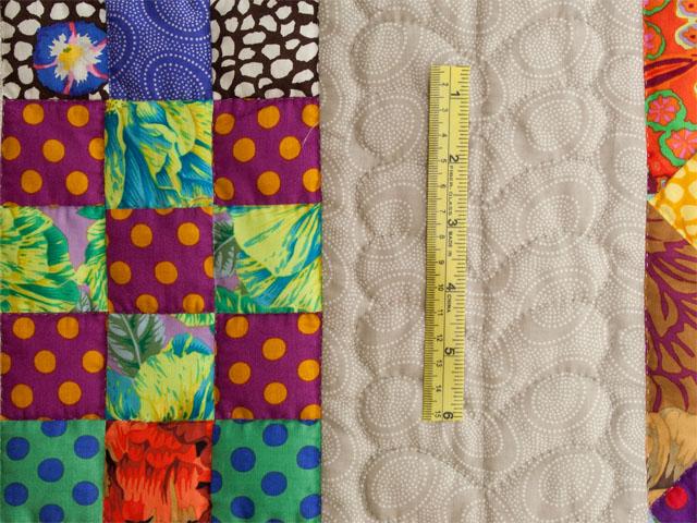 Diagonal Madness using  Kaffe Fassett Designer Fabrics Photo 8