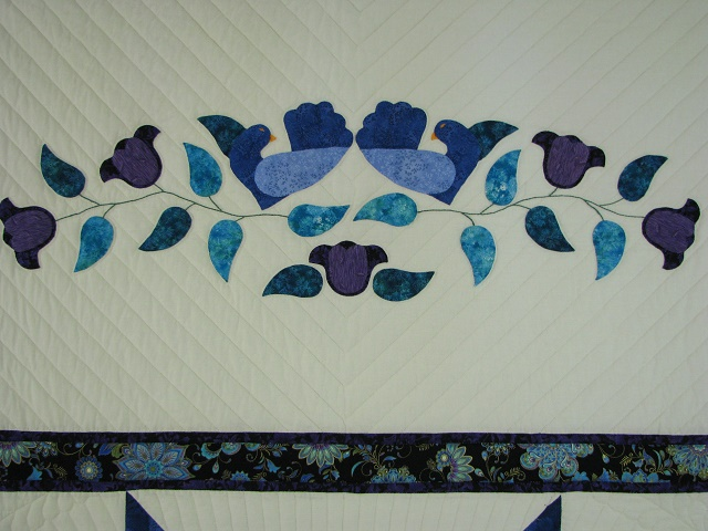 Purple and Teal Lone Star Quilt Photo 7