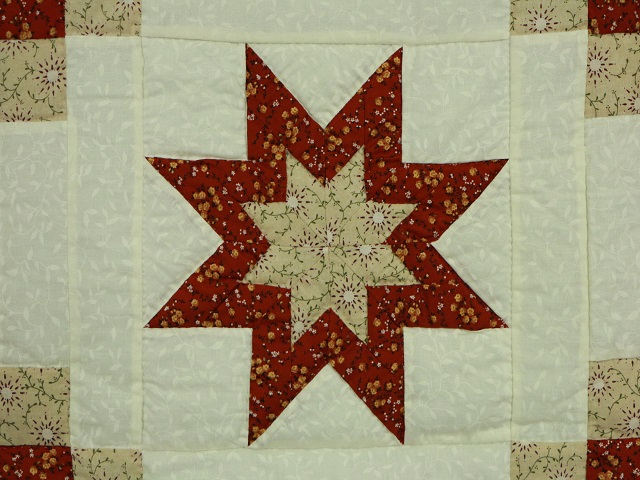 Irish Chain with Star Photo 5