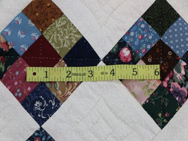 Scrappy Double Nine Patch Quilt Photo 7