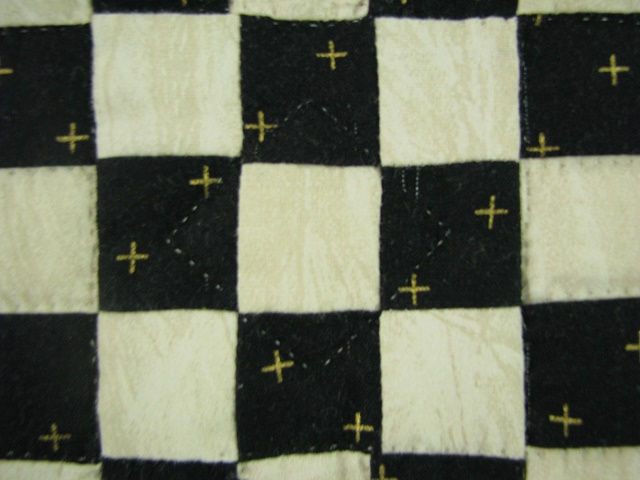 Black and Green Stack and Whack Stars Quilt Photo 7