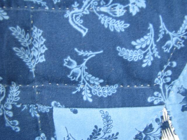 Blue Northern Star Quilt Photo 5