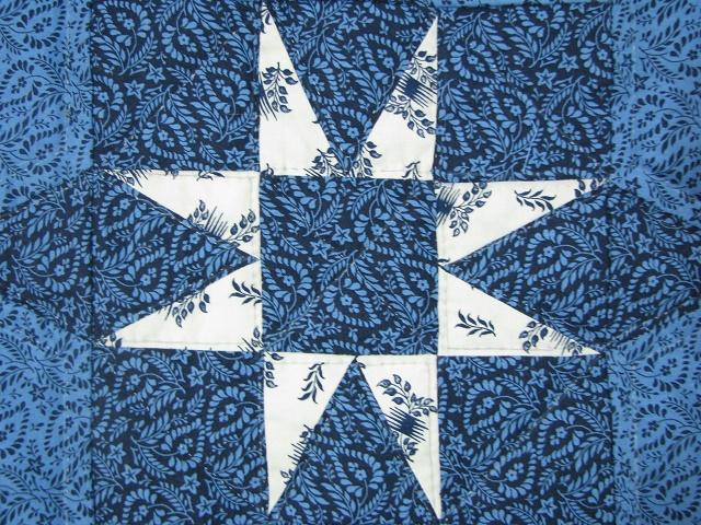 Blue Northern Star Quilt Photo 6