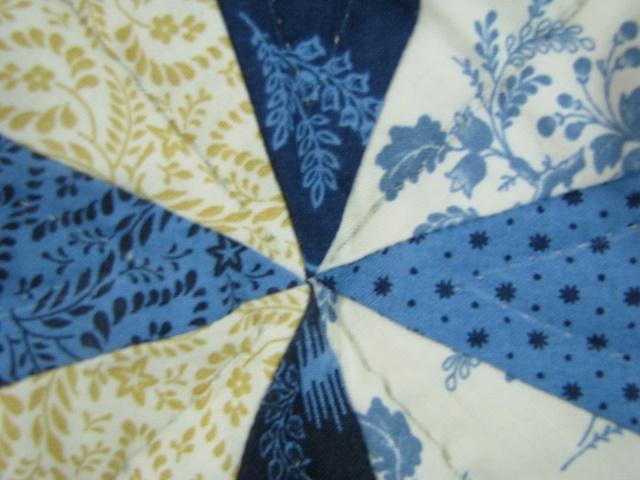 Blue Northern Star Quilt Photo 7