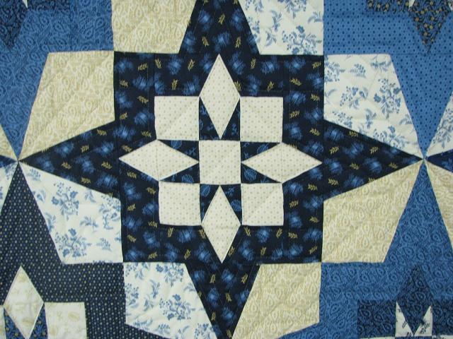 Blue Northern Star Quilt Photo 8