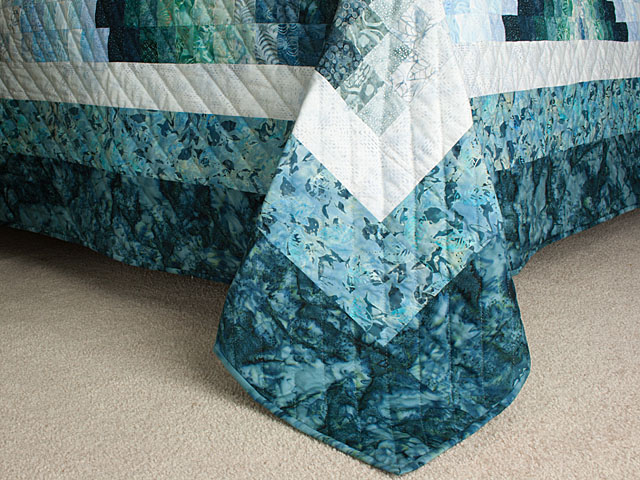Bargello Flame - Chasing waves