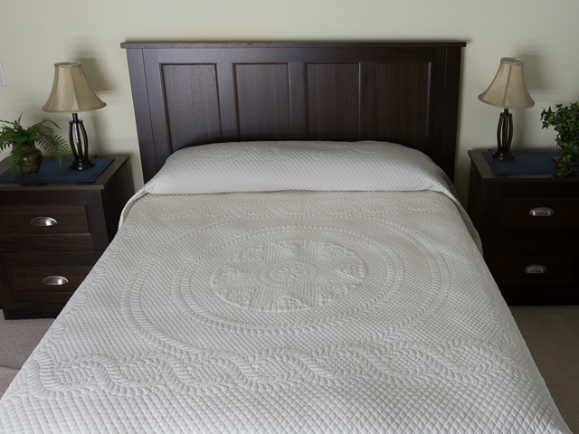 Heirloom All Natural Muslin Queen Size All Quilted Photo 1