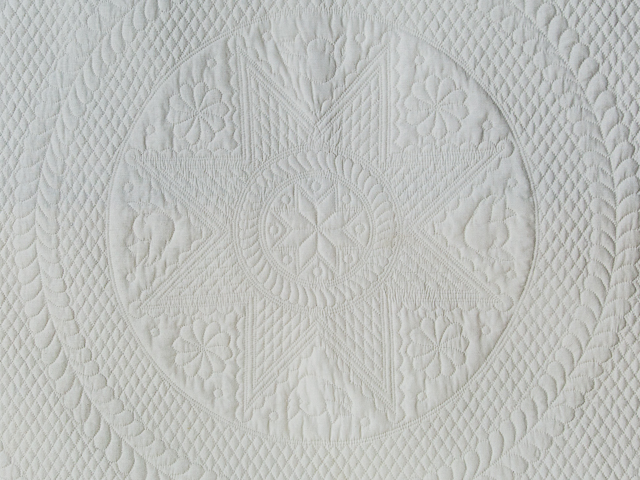 Heirloom All Natural Muslin Queen Size All Quilted Photo 2