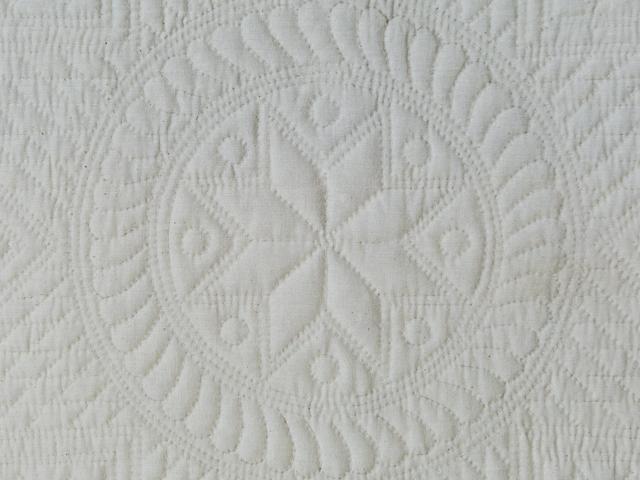 Heirloom All Natural Muslin Queen Size All Quilted Photo 3