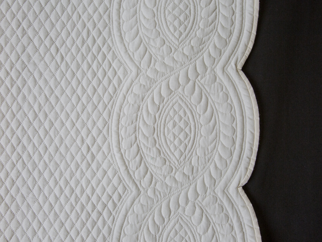 Heirloom All Natural Muslin Queen Size All Quilted Photo 5