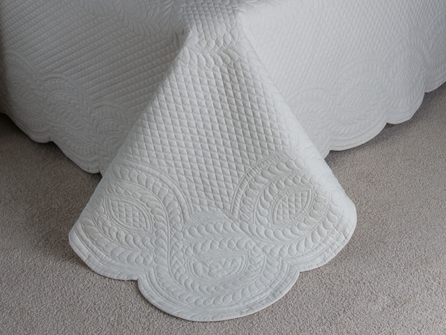 Heirloom All Natural Muslin Queen Size All Quilted Photo 7