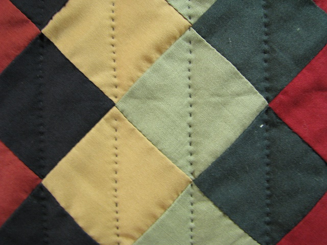 Amish Sunshine Diamond Southwest Colors Quilt Photo 6