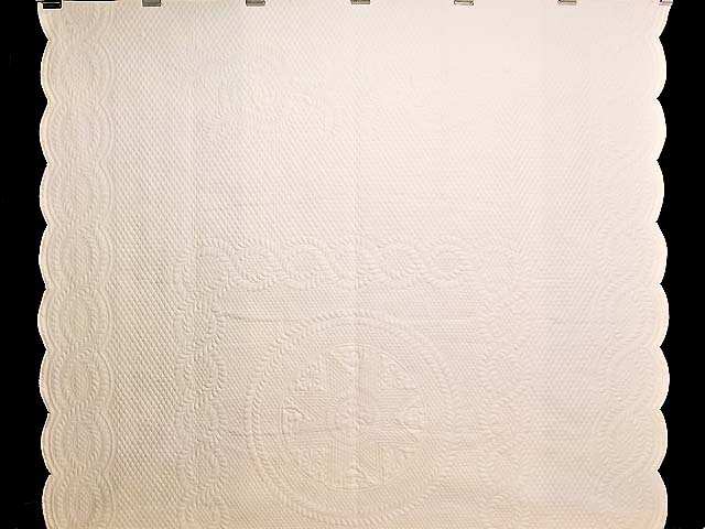 Cream All Quilted Heirloom Quilt Photo 2