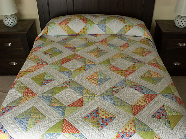Feather Dance in Bright happy colors on white