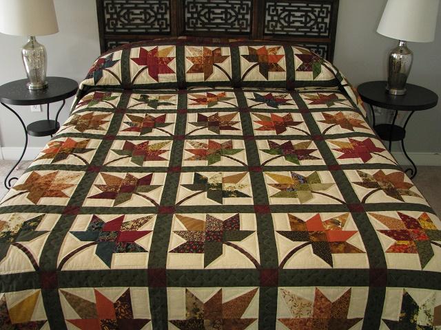 King Autumn Splendor Quilt Photo 1