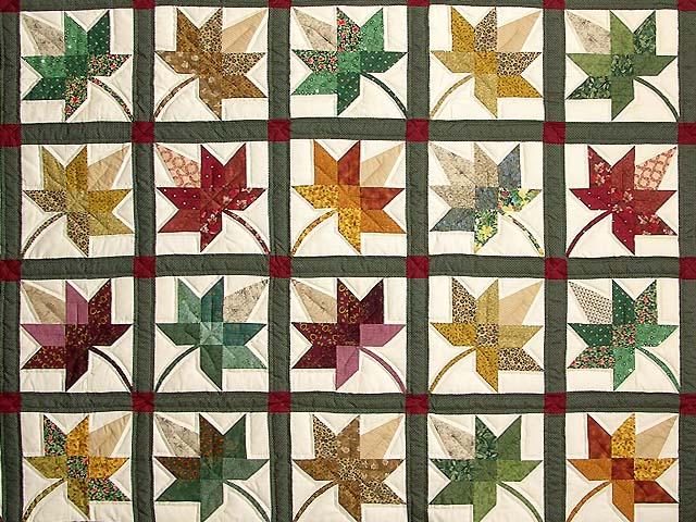 King Autumn Splendor Quilt Photo 3