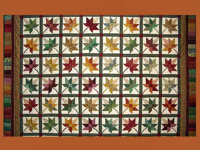 King Autumn Splendor Quilt Photo 8