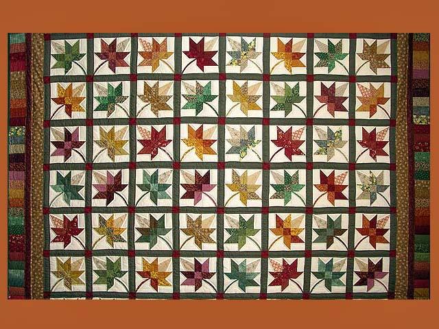 King Autumn Splendor Quilt Photo 8