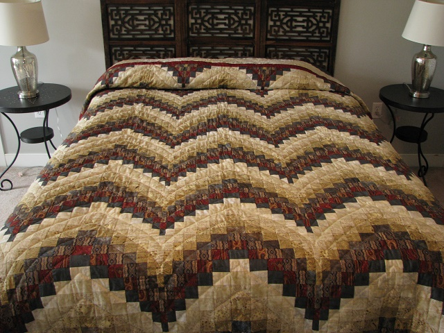 Egyptian Colors Bargello Quilt Photo 1
