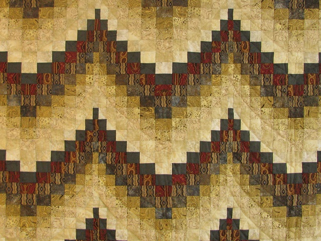 Egyptian Colors Bargello Quilt Photo 3