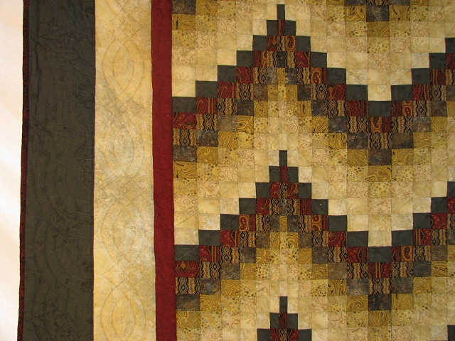 Egyptian Colors Bargello Quilt Photo 4