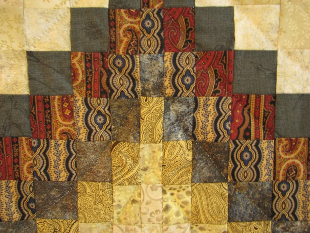 Egyptian Colors Bargello Quilt Photo 5