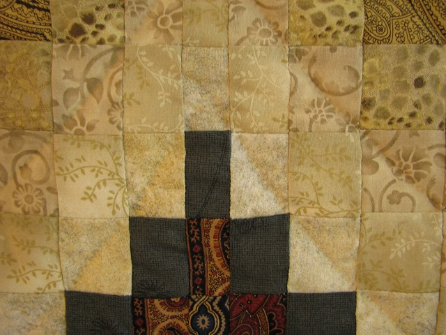 Egyptian Colors Bargello Quilt Photo 6