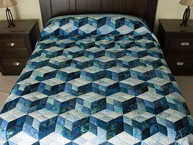 Tumbling Blocks 4 patch