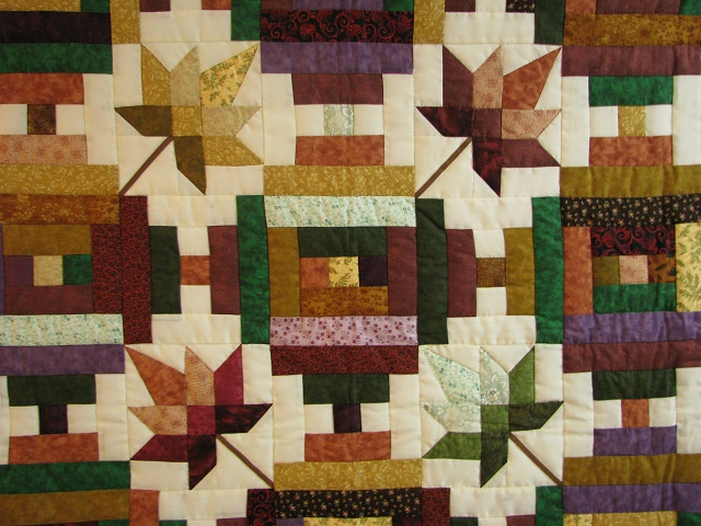 Bright Court Step Autumn Splendor Quilt Photo 3