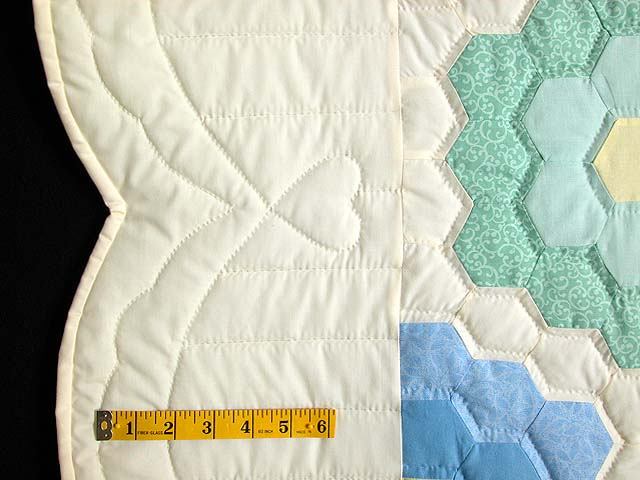 Pastel Multicolor Flower Garden Quilt Photo 7