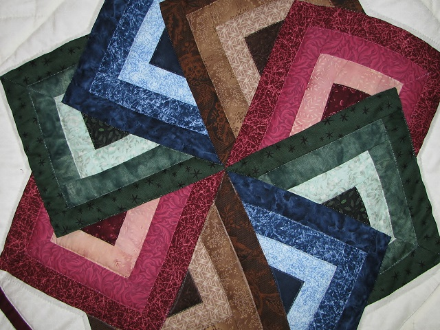 Jewel Colors Star Spin Quilt Photo 6
