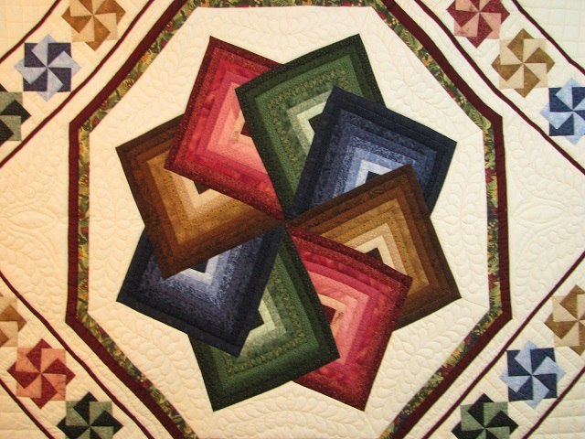 Jewel Colors Star Spin Quilt Photo 8