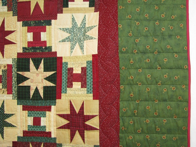 Courthouse Step Star Quilt Photo 4