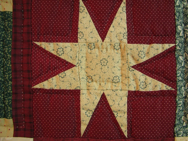 Courthouse Step Star Quilt Photo 6