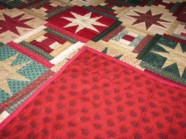 Courthouse Step Star Quilt Photo 7