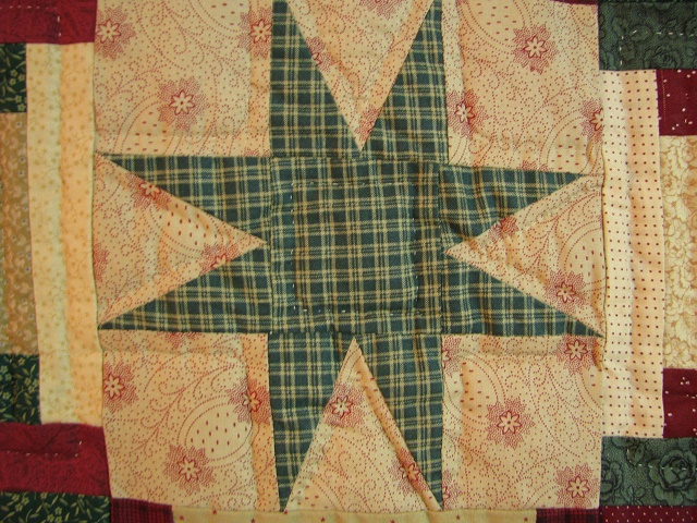 Courthouse Step Star Quilt Photo 8