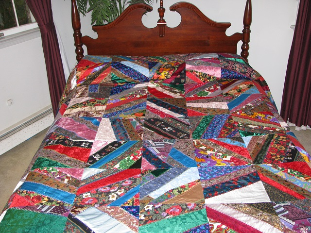 Crazy Patch Quilt Photo 1