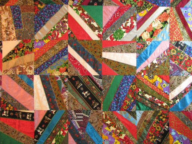 Crazy Patch Quilt Photo 3