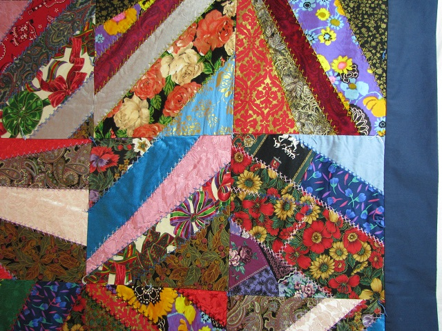 Crazy Patch Quilt Photo 4