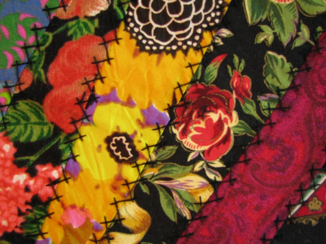 Crazy Patch Quilt Photo 5