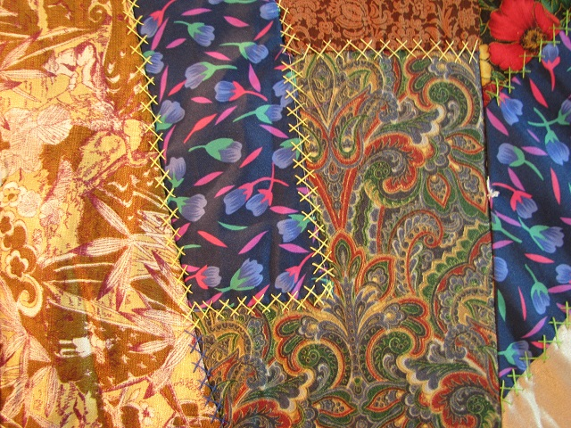 Crazy Patch Quilt Photo 6