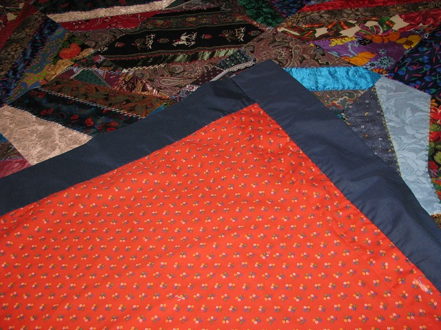 Crazy Patch Quilt Photo 7
